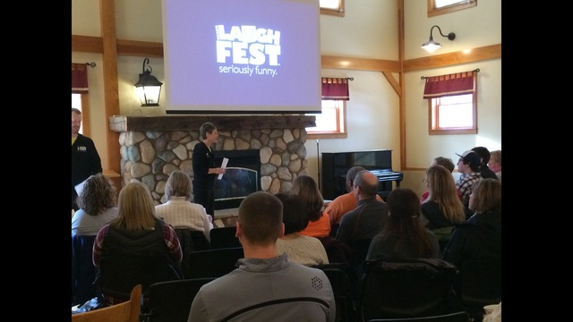 Volunteer orientation for LaughFest