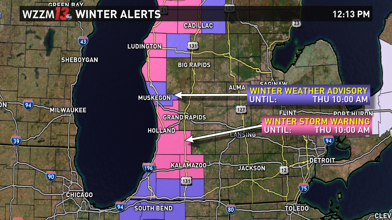 Winter Storm Warning Continues 6 Inches Of Snow Already