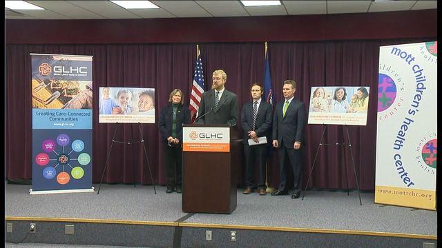 GR company donates to Flint healthcare