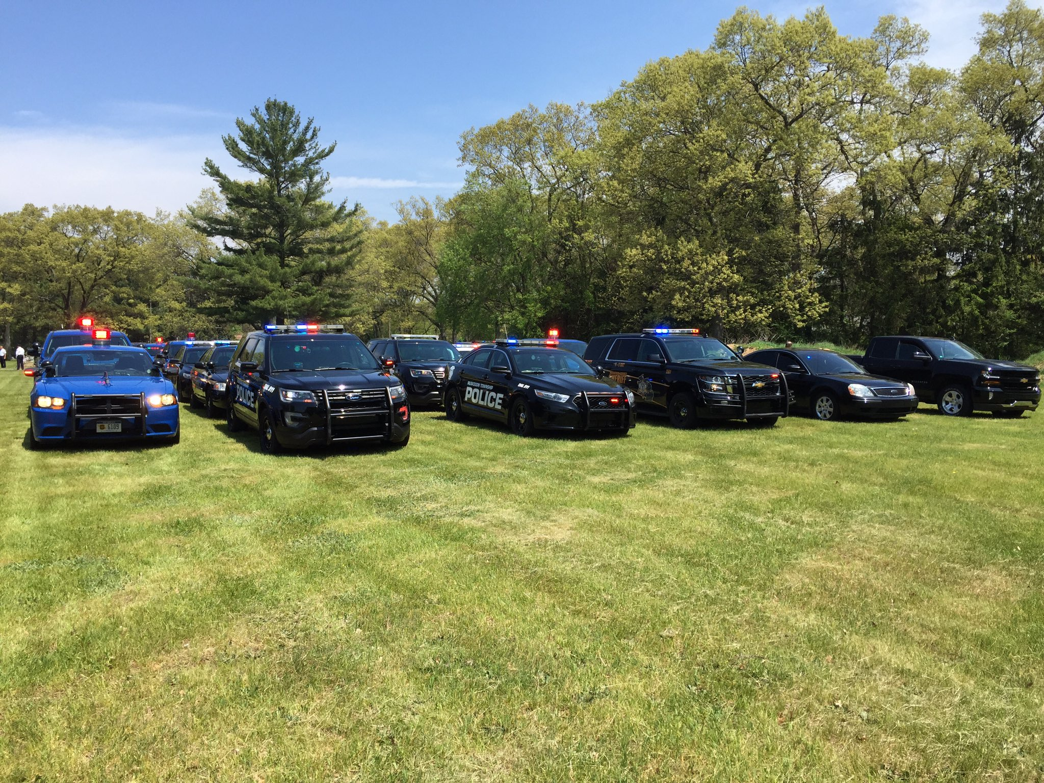 Norton Shores police officer escorted to final resting ...