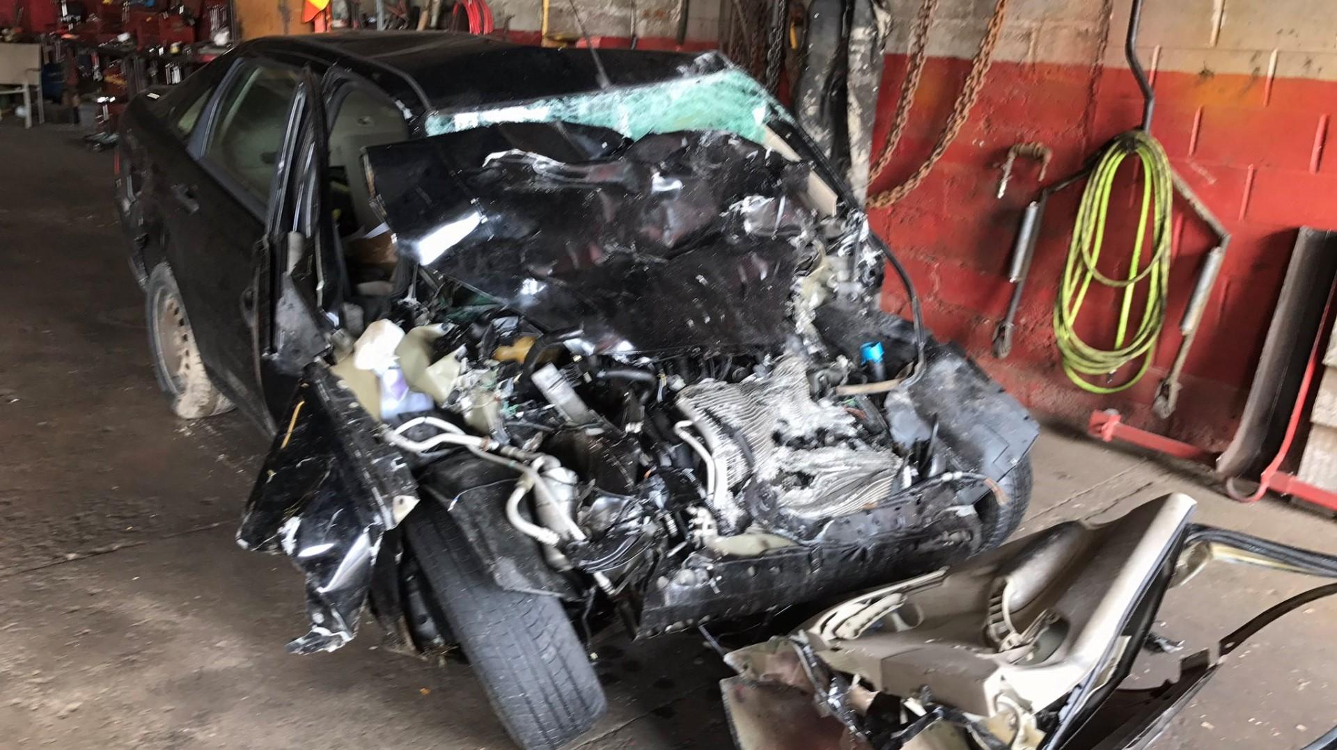 96 Car Crash Car Crash Rockford Mi